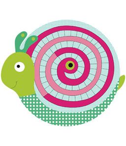 Illustratrice pour Djeco. Cliquer. Le frisbee tortue à découvrir.