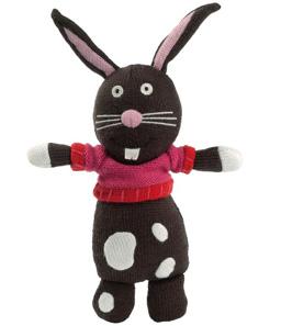 Création d'une collection en laine, pour Latitude Enfant. Définition de la collection, réalisation des dessins, suivi des prototypes en Asie. Cliquer, d'autres Grannimals à découvrir ainsi que les produits dérivés en laine comme les duos maman/bébé et papa/bébé, les cachettes en laine...  A la Une, Lucien le lapin.